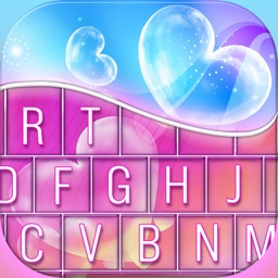 Love Keyboard Themes For iPhone – Color.ful Background Skins + Cute Font.s Change.r
