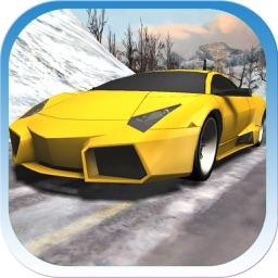 Car Racing Winter PRO
