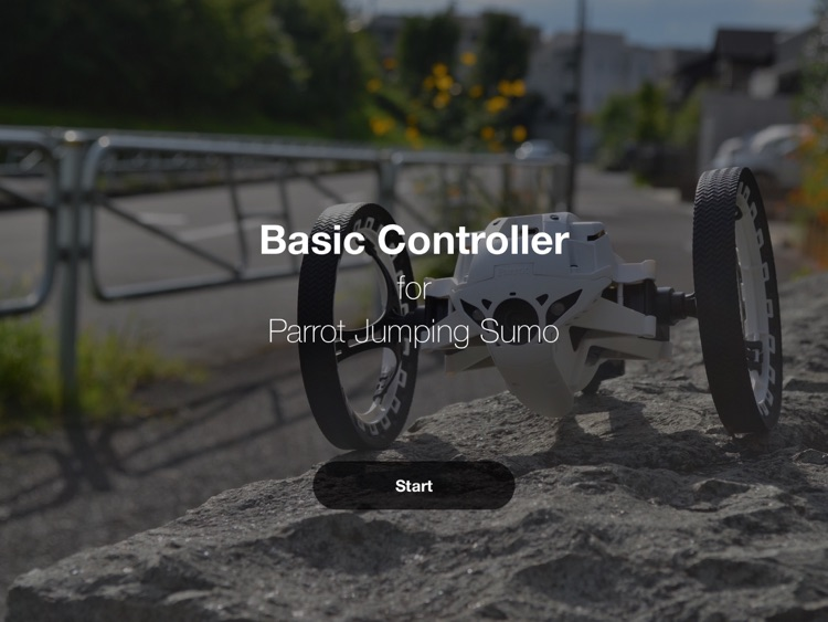 Jumping Sumo Basic Controller for iPad