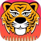 タイガーぬりえ:詳細描画し、カラーチーター、ヒョウとすることを学びます icon