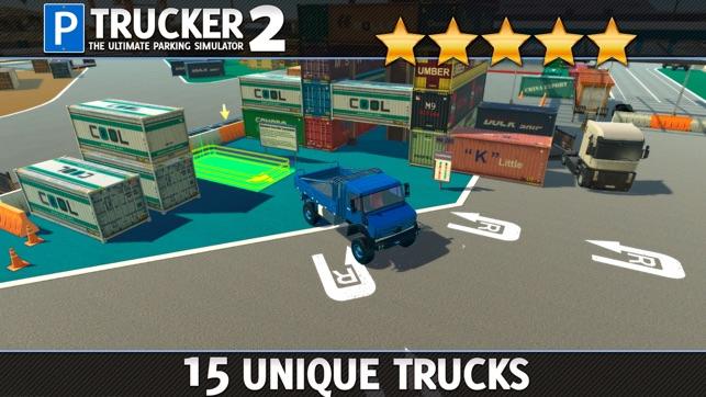 trucker parking simulator 2 gratuit jeux de voiture de course dans l app store. Black Bedroom Furniture Sets. Home Design Ideas