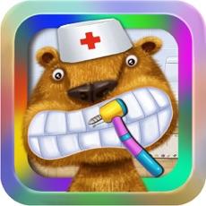 Activities of Dentist:Pet Hospital-Animal Doctor Office:Fun Kids Teeth Games for Boys & Girls HD
