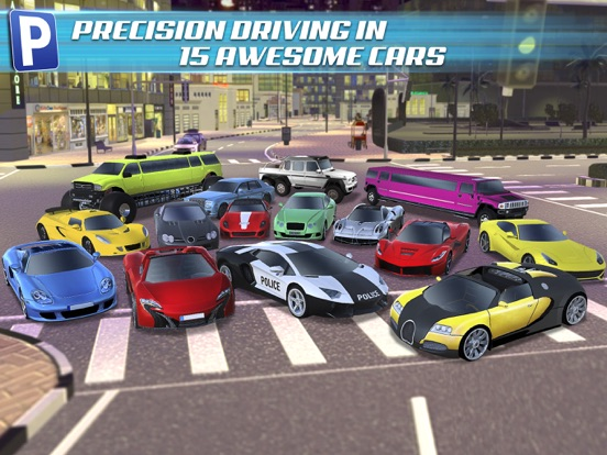 3D Dubai Parking Simulator Drive Real Extreme Super Sports Carのおすすめ画像2