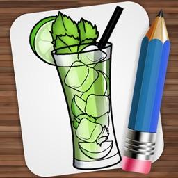 Drawing Fantastic Cocktails