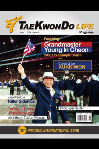Tae Kwon Do Life Magazine - náhled