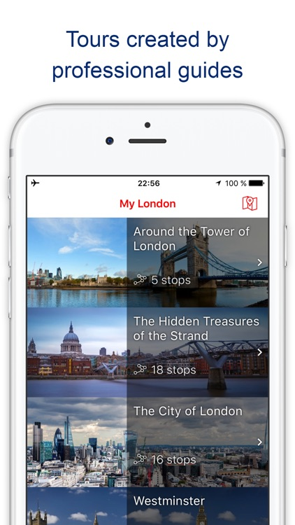 My London Travel guide with audio-guide walks (UK)