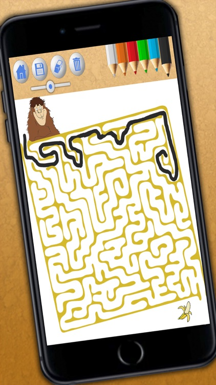 Animal maze game for kids - Solve the maze do the puzzle and paint the funny animals in the game Premium