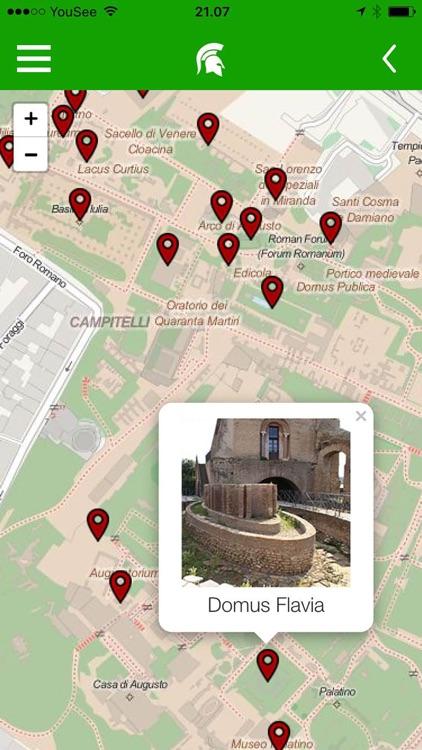 Forum Romanum and Palatine Hill screenshot-3