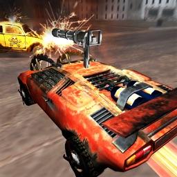 Legend Pull-Back Road Racer - Extreme Road Warrior Car Racing