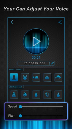 Voice Change r - Funny Sound Effect s Filter, Record er