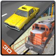 赶火车 - 极端驾驶车辆的停车场及模拟器游戏