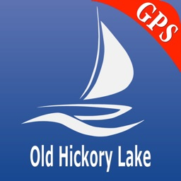Old Hickory Lake GPS Nautical charts