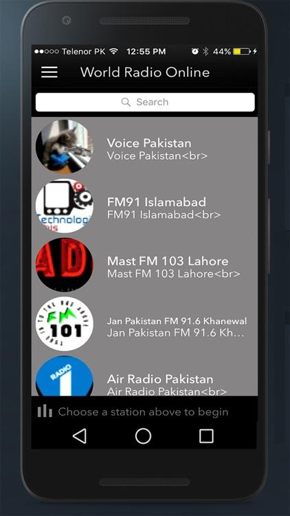 World Radio Online Pro,Radio Stations Listen AM FM screenshot-4
