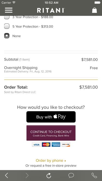 Ritani - A Smarter Way To Buy An Engagement Ring screenshot-4
