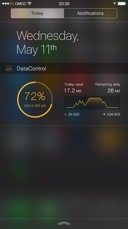 DataControl - easy to track your data usage