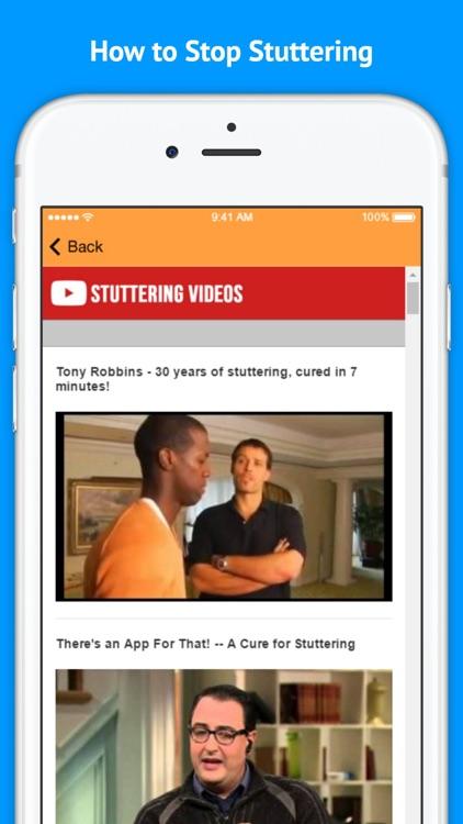 Natural Cures for Stuttering screenshot-3
