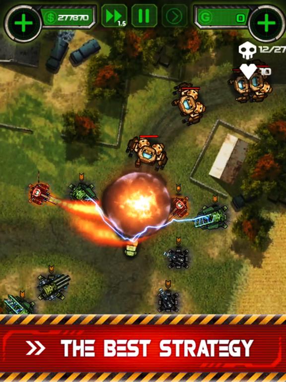 Tower Defense - Civil Warのおすすめ画像2