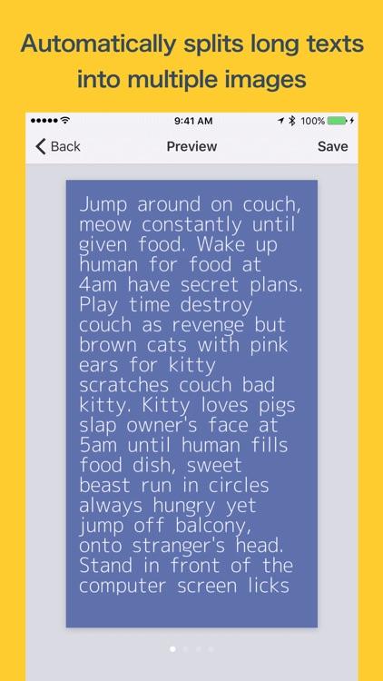 Lemon - Long Text to Image screenshot-3