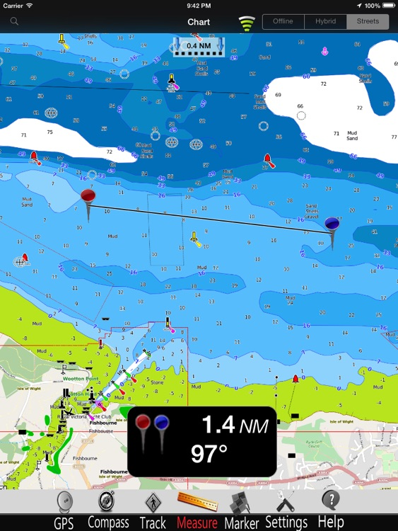 Solent GPS Nautical Charts Pro screenshot-3