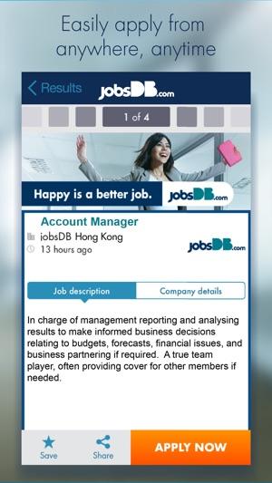 Jobsdb job search on the app store stopboris Choice Image