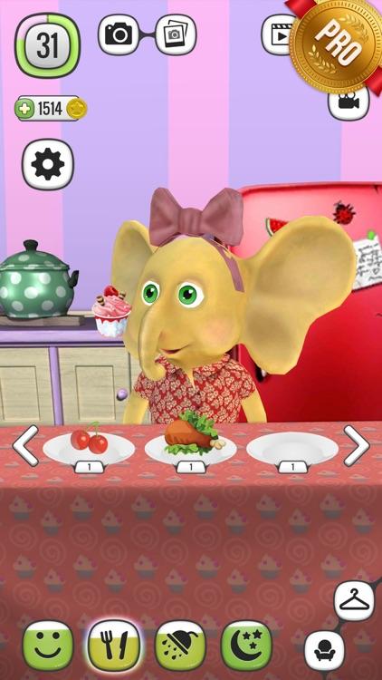 ! My Talking Elephant Elly PRO - Virtual Pet
