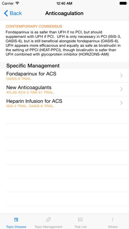 HeartEvidence Lite: Landmark trials in Cardiology screenshot-3