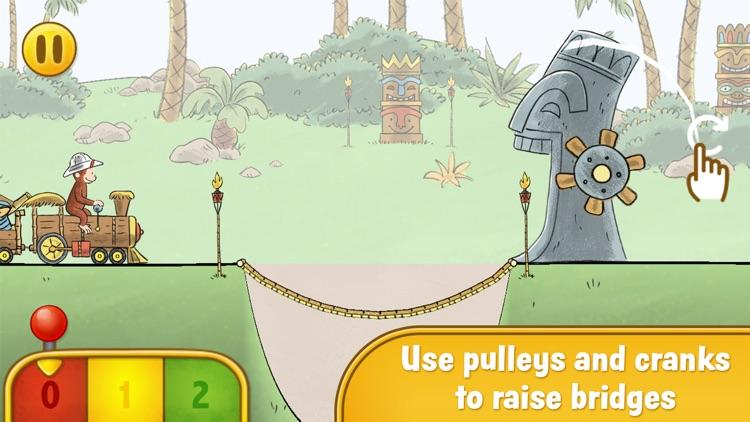 Curious George Train Adventures screenshot-3