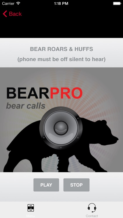 REAL Bear Calls & Bear Sounds for Big Game Hunting - BLUETOOTH COMPATIBLE screenshot-0