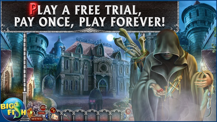 Spirit of Revenge: Cursed Castle - A Hidden Object Mystery Game screenshot-0