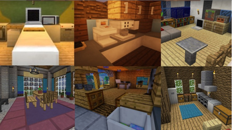 MineMaps Pro - Best Furniture for Game PE & PC screenshot-2