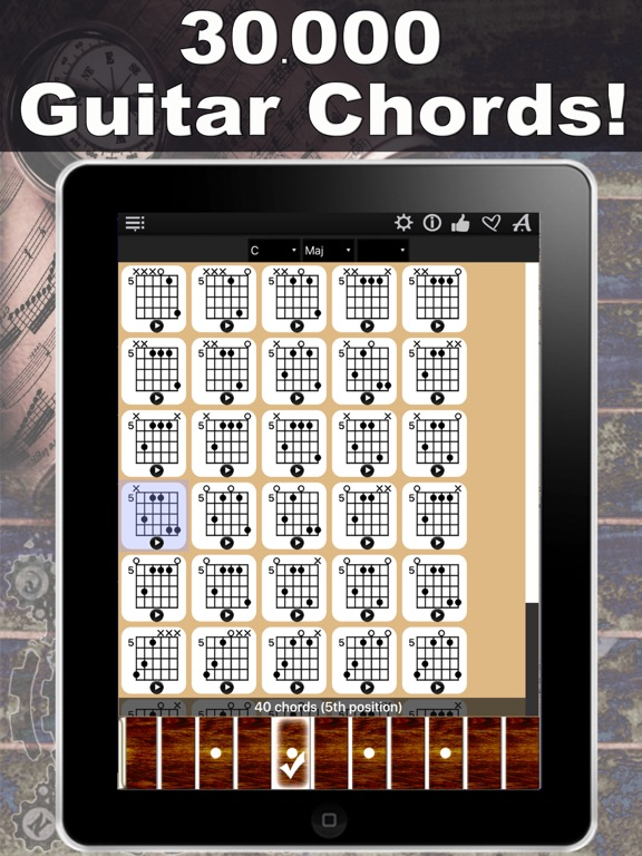 Guitar Chords Compass Learn The Chord Charts Play Them App