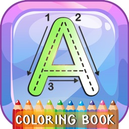 ABC Alphabets Tracer Coloring Book: Preschool Kids Easy Learn To Write ABCs Letters!