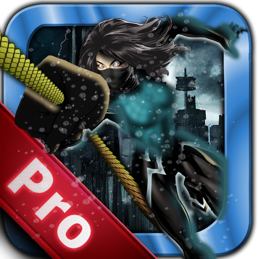 Rope Swing Girl Hero Pro - Fly and Jump in the City icon