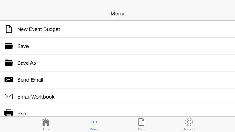 Event Budget screenshot-4