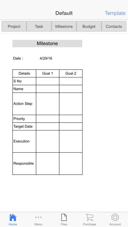 Project Schedule screenshot-3