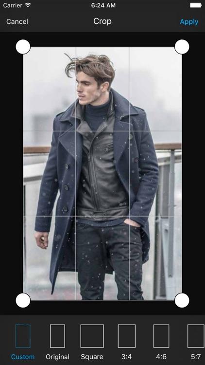 Winter Man Photo Suit
