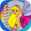 Paint fairies for girls from 3 to 6 yeas
