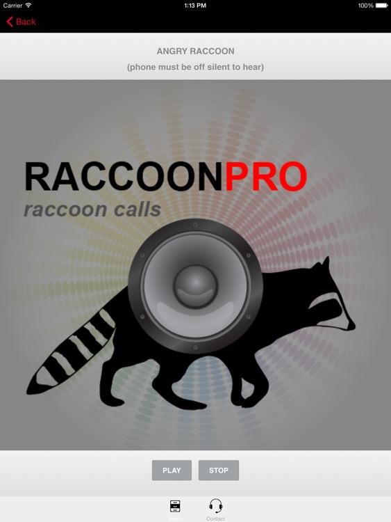 REAL Raccoon Calls & Raccoon Sounds for Raccoon Hunting -- (ad free) BLUETOOTH COMPATIBLE screenshot-3