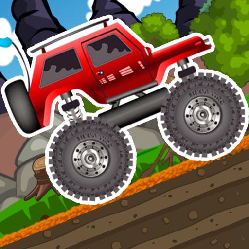4*4 Monster Truck Offroad Legends Rider : Hill Climb Racing Driving Free Games iOS App