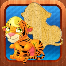 Animals Puzzles Game for Kids and Toddlers - Pet, Farm and Wild
