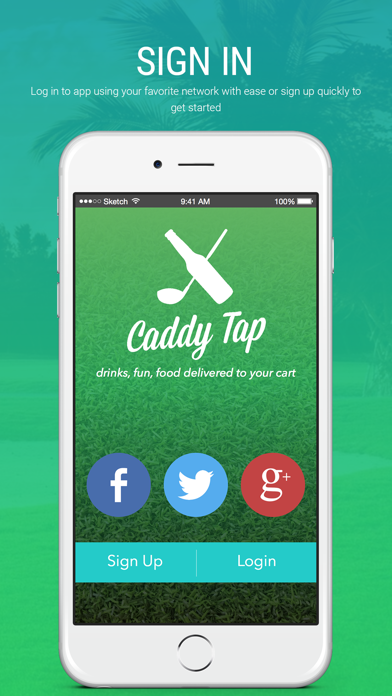 Caddy Tap (Golfer) screenshot one