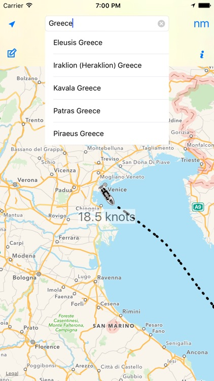 Cruise Nav - Nautical GPS Tracker