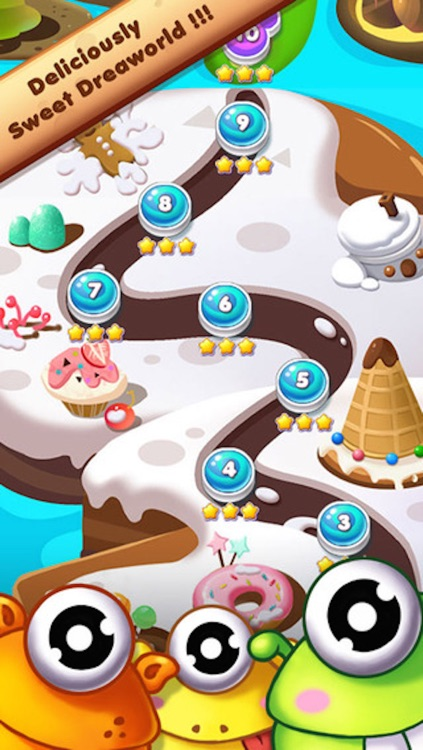 Magic Cookie - 3 match puzzle game screenshot-4