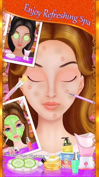 My Dream Wedding Day - Girls Makeup, Makeover & Dressup Salon screenshot-1