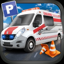 911 Emergency Ambulance Rescue Operation - Patients City Hospital Delivery Sim