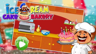 Ice Cream Cake Bakery – Crazy cooking & chef story game for star cooks screenshot one