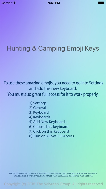 Hunting & Camping Emoji Keyboard