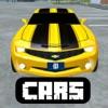 Cars Mod for Minecraft PC Ferrari Edition + Vehicles & Racing Car Driver Skins