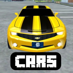 Cars Mod for Minecraft PC Ferrari Edition + Vehicles & Racing Car Driver Skins