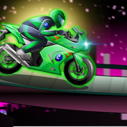Super Futuristic Track Motorcycles - Vibrant Speed